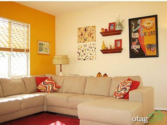 30 مدل استفاده از رنگ زرد در دکوراسیون خانه با راهنمای چیدمان زرد +عکس